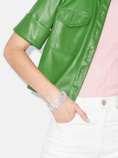 Multicoloured Cool To Be Kind Crystal Bracelet Set