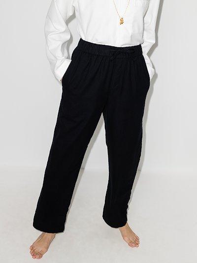 flannel cotton pyjama trousers