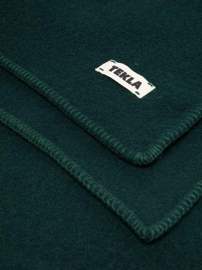 Green Wool Blanket