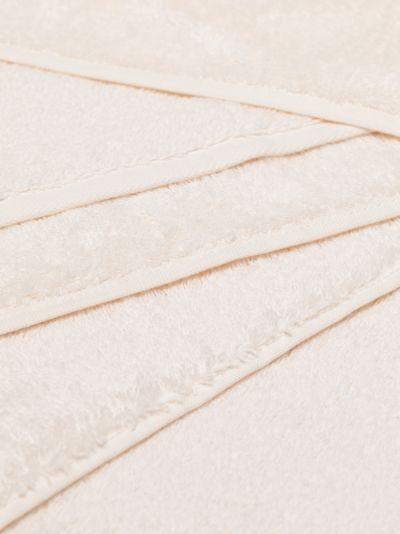 ivory organic cotton towel set