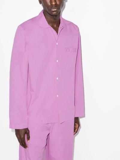 organic cotton pyjama shirt