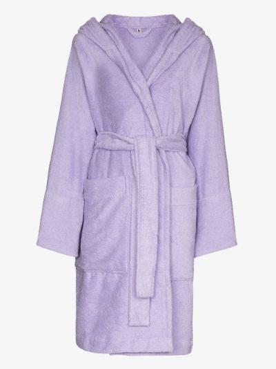 organic terry cotton robe