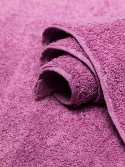 pink organic cotton towel set