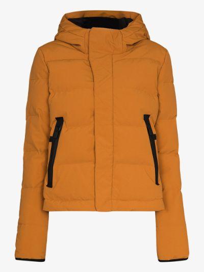 20K hooded ski jacket