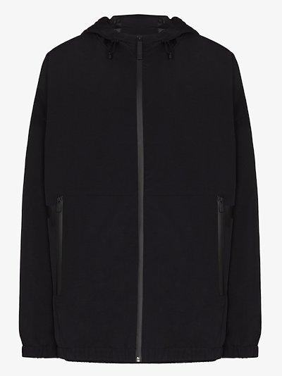 black Boo hooded jacket