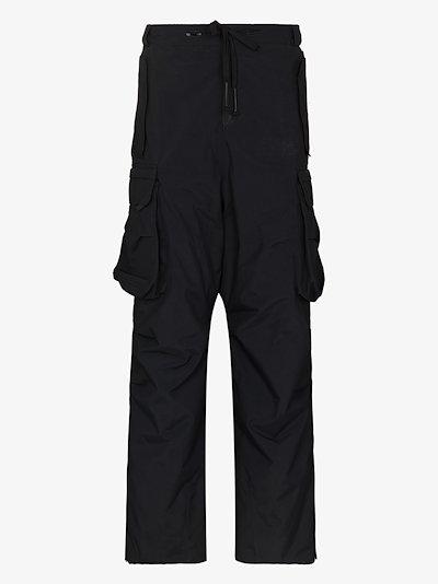 black Kanta ski trousers
