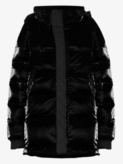 Gloss puffer jacket