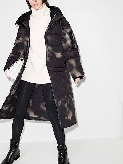 Nas oversized puffer coat
