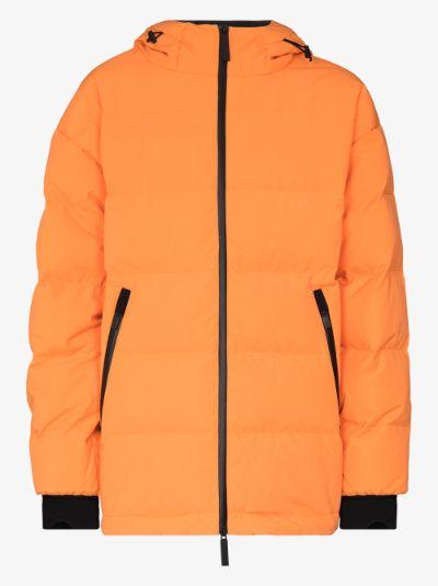 orange 2L Bio puffer coat