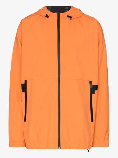 orange Boo hooded jacket