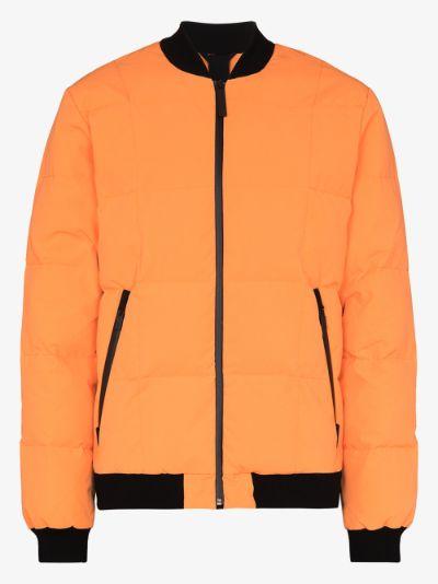 orange Quill lightweight bomber jacket