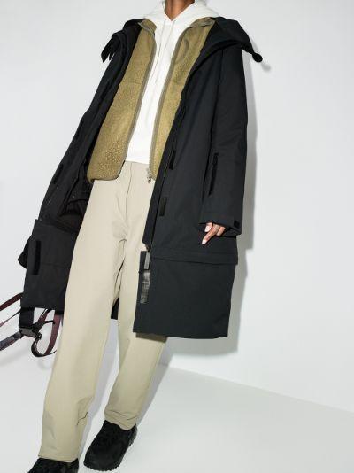 Pro Wadded Anton longline ski coat
