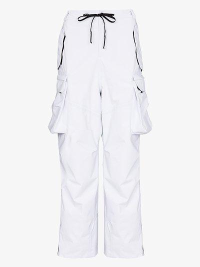 white Kanta ski trousers