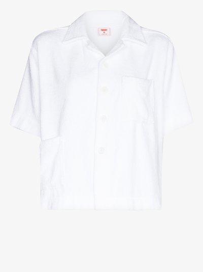 boxy cotton shirt