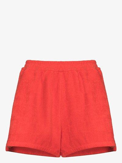 Estate terry cotton shorts