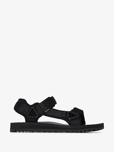 Black Universal Trail sandals
