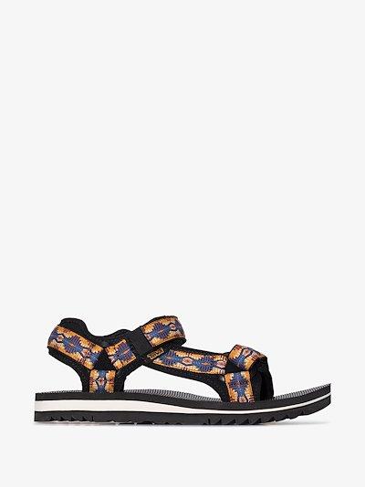 multicoloured Universal Trail sandals