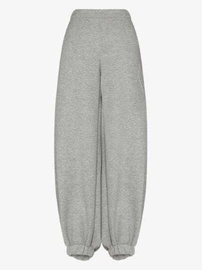 oversized cuffed track pants