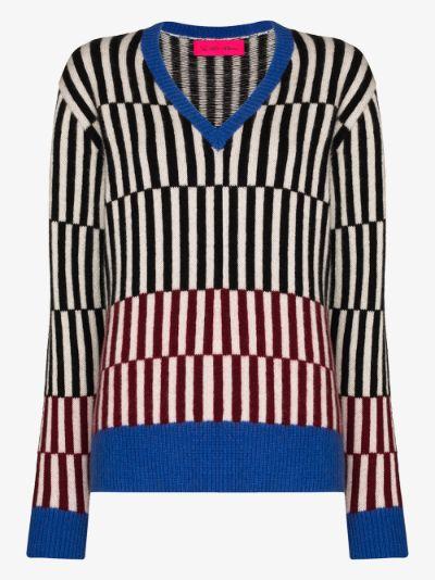 Fusion V-Neck Cashmere Sweater