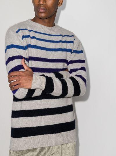 Horizon Striped Cashmere Sweater