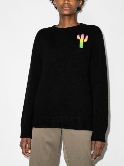 Magic Cactus Universe cashmere sweater