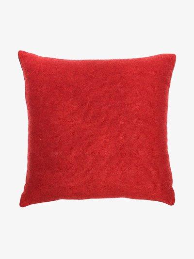 multicoloured Bullseye cashmere pillow