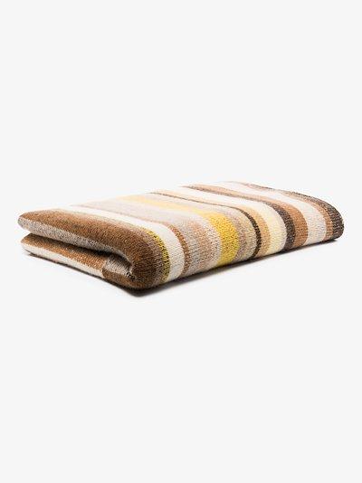 Multicoloured Super Soft Cashmere Blanket
