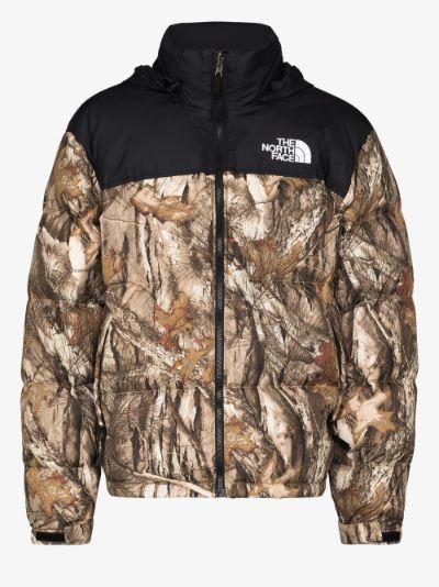 1996 Retro Nuptse printed puffer jacket