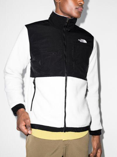 black and grey denali fleece jacket