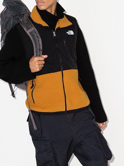 Black and Orange Denali zipped gilet