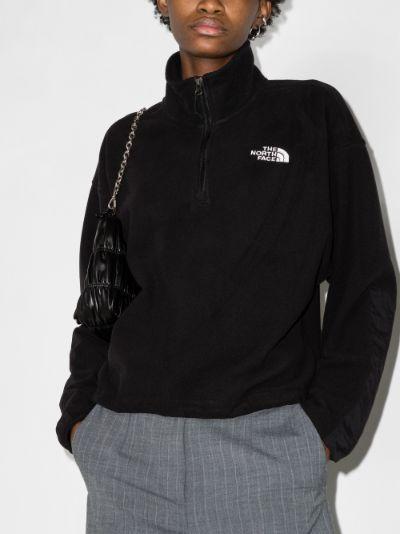 Ice Floe quarter zip fleece jacket
