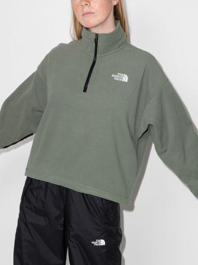 Ice Flow high neck fleece sweater