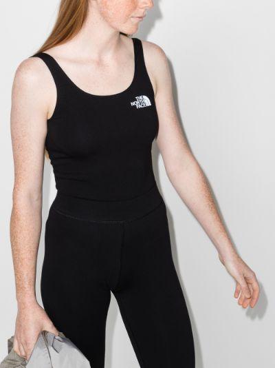 scoop neck bodysuit