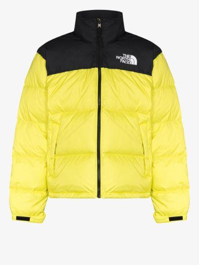 yellow 1996 Retro Nuptse padded jacket