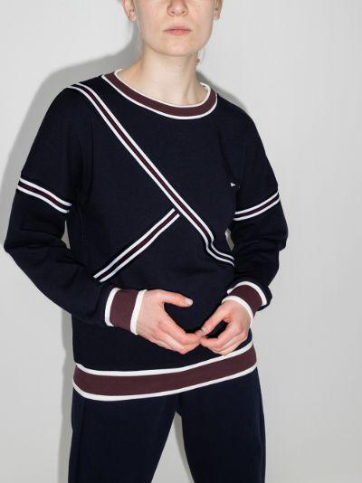 Captain striped sweatshirt