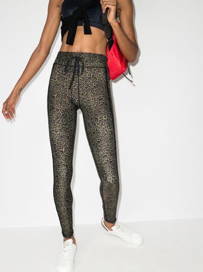 leopard print yoga leggings