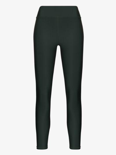 matte tech cropped leggings