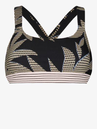 Palm Paola sports bra