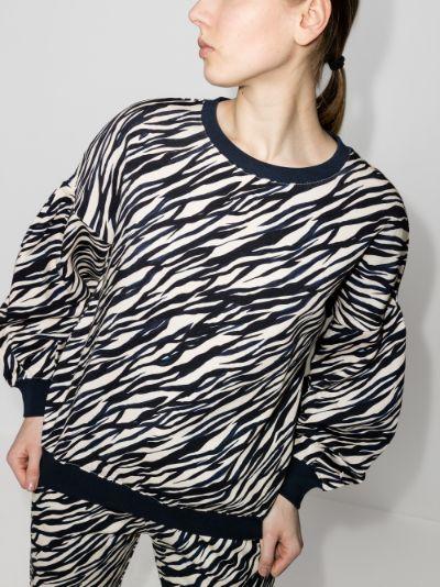 Zebra Bella cotton sweatshirt