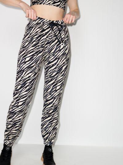 Zebra Gia cotton track pants