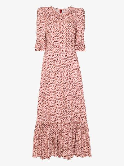Gloria floral print cotton dress