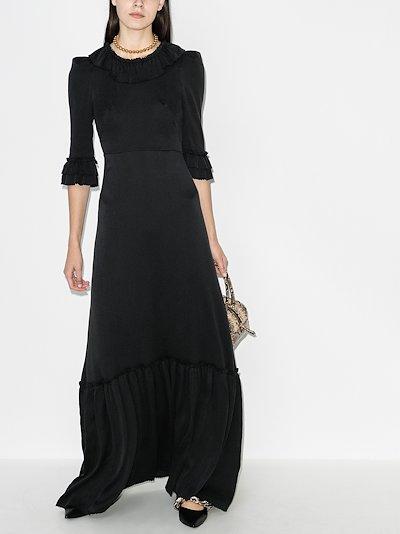 gloria ruffled maxi dress