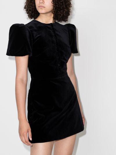 The Heartbreaker Velvet Mini Dress