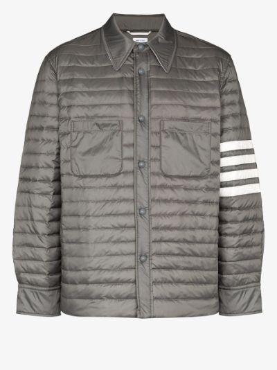 4-Bar down fill shirt jacket