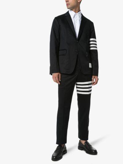 4-Bar Stripe cotton trousers