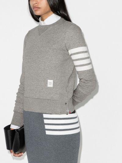4-bar stripe sweatshirt
