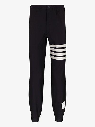 4-bar stripe track pants