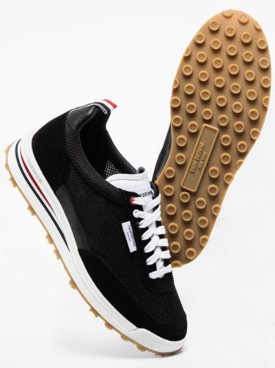 Black Tech Runner Sneakers