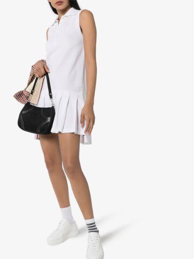 collared cotton tennis dress