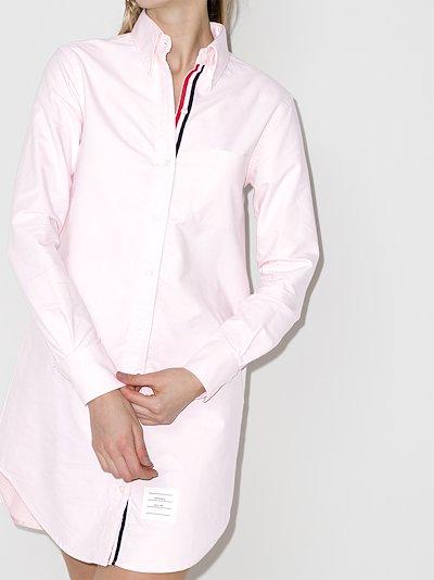 cotton Mini Shirt Dress